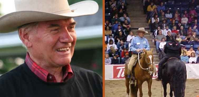 Larry Stewart, mon tout premier mentor de »natural horsemanship»