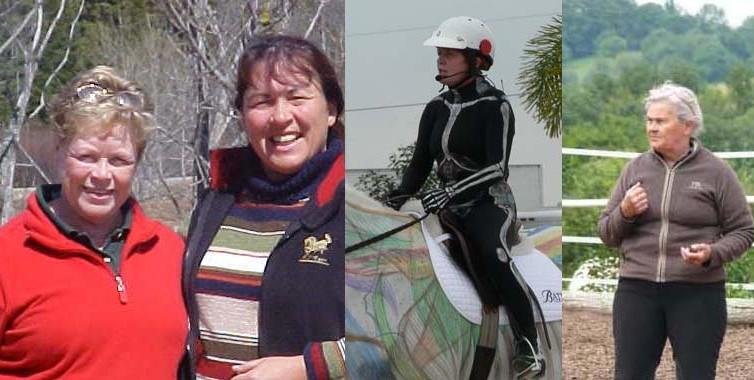 Mes mentors d'équitation centrée
